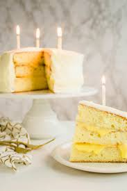 Lemon Champagne Cake With Cream Cheese Frosting Good Food Stories