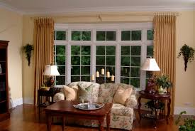 Living Room Window Treatments Window Treatments For Bay Windows To Consider