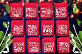 This download includes the following files. Christmas Pot Holder Svg Bundle Kitchen Svg Digitanza