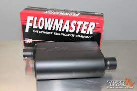 Sound Comparison Five Of Flowmasters Popular Series Of