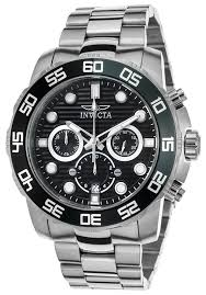 invicta men 039 s pro diver quartz chronograph stainless steel invicta men 039 s pro diver quartz chronograph