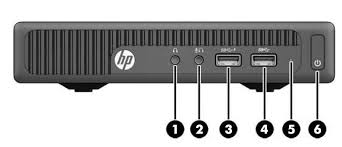 overview hp elitedesk 705 g2 desktop mini business pc 1 headphone connector 4 usb