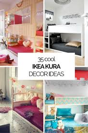 ikea youth bedroom. 35 Cool IKEA Kura Beds Ideas For Your Kids\u0027 Rooms | DigsDigs Ikea Youth Bedroom