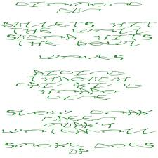 Slow <b>Dark Green</b> Murky Waterfall | Eliza McCarthy & Mica Levi | Slip