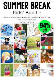 summer break kids bundle inspiration