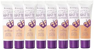 Rimmel Stay Matte Foundation Color Chart Rimmel Londonrimmel Stay Matte Liquid Mousse Foundation Range