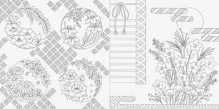 和の花暦と花もよう ぬり絵ブック Pie International