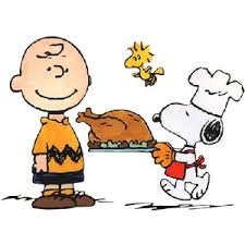 images of thanksgiving dinner cartoon