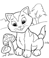 astonishing cute kittens coloring pages photo to page best kitten printable s snazzy