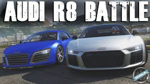 GENERATION BATTLE || Audi R8 V10 Plus: 2016 VS 2013 || Forza 6 W ...