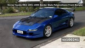 Vicrez Toyota MR2 1991-1995 Border Style Polyurethane Front Bumper ...