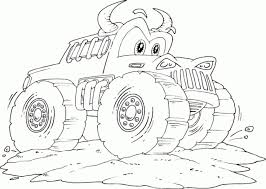 Get This Online Monster Truck Coloring Pages 82297