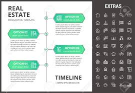 Bolo Template Real Estate Timeline Infographic Template Elements And Icons