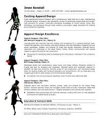 Fashion Design Resume Template 19 Cover Letter
