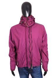Superdry Jacket Size Chart Details About Superdry Windcheater Mens Jacket Hood Size L