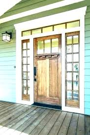 fiberglass door with sidelights craftsman fiberglass craftsman style front door with sidelights