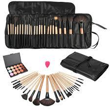 pro beauty makeup set kits fashion concealer contour palette 24pcs pro make up brushes