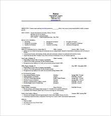 Internship Resume Template 11 Free Word Excel Pdf Psd Format Sample