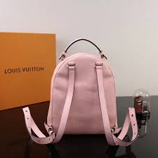 lv louis vuitton monogram sorbonne backpack real leather bags handbags m44019 pink