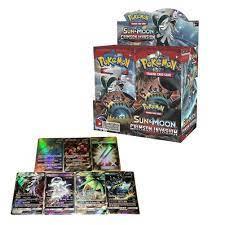 Set 36 hộp 324 thẻ bài đồ chơi Pokemon Sun & Moon Crimson giảm chỉ còn  475,978 đ