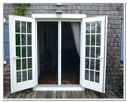 out swing patio door french doors exterior screens outswing with sidelights