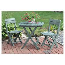 remarkable folding bistro table and chairs set with bistro sets youll love