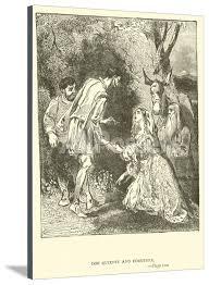 Don Quixote and Dorothea' Giclee Print - Sir John Gilbert | AllPosters.com