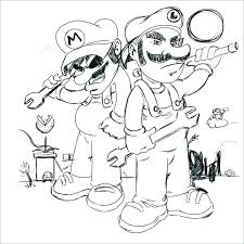 Mario Kart Coloring Page Kart Printable Coloring Pages Bros