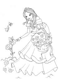 Princess Coloring Pages Kids Get Coloring Pages