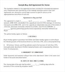 Sample Buy Sell Agreement Sale Form Business Format – Trufflr