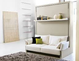 view in gallery transformable murphy bed system with front sofa