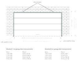 minimum garage size average size of two car garage size of a one car garage fantastic