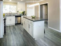 black vinyl plank flooring gray chic idea dark kitchen with cabinets best project images on home