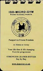 Charles Atlas Isometrics Chart Iso Micro Gym Keep Fit Without Exercise Equipment With Isometrics