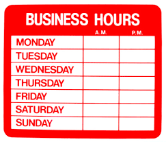 work home business hours image. Business Hours Sign Template Word Work From Home Salon Establishing Boundaries Ask The Pro Amazing Ready Image