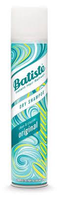 Купить <b>Сухой шампунь</b> для волос Batiste Original с освежающим ...