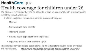 If your parents' plan doesn't, you can't be added. Covered California Cuts Independent Young Adults From Family Plans