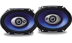 pioneer 6x8 speakers. pioneer ts-a6871r front 6x8 speakers