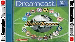 Sega Dreamcast | European Super League