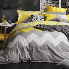marley yellow californian king duvet cover set