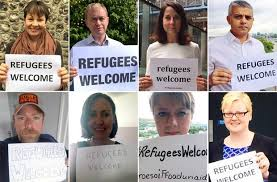 Image result for #refugeeswelcome