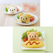 Bento Box Decorations Rilakkuma Kiiroitori chick Bento rice ball decoration set SanX 78