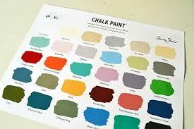 Annie Sloan Chalk Paint Color Chart Annie Sloan Chalk Paint Color Chart Angies Roost