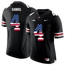 Buckeyes American Football Black State Curtis Jersey Flag 4 Ohio 2019 Samuel