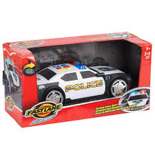 Fast Lane Light And Sound Police Motorcycle Fast Lane Police Car Action Wheels With Lights And Sound