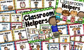 Classroom Monitors Chart Classroom Jobs Chart Editable Dots Classroom Set Mrs