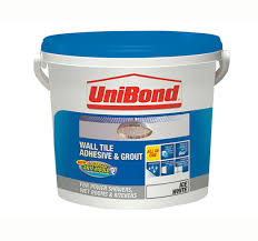 unibond tile on walls anti mould readymix adhesive grout
