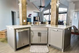 Functional Kitchen Functional Modern Kitchen Fireplace Before After