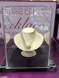 costco 1008645 14kt yellow gold diamond cut heart
