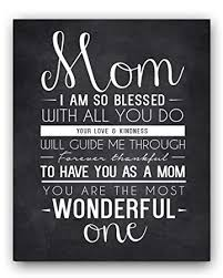 Amazon Mom Quote Chalkboard Unique Mom Gift Mom Quote Sign Impressive Mom Quotes From Daughter